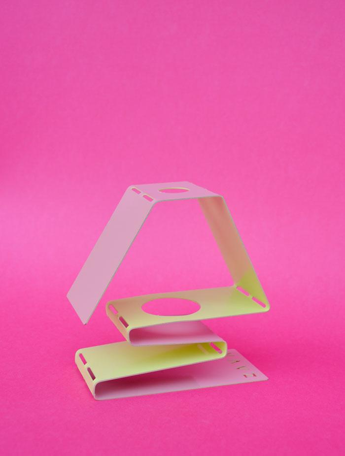 Diy foldable candle holder - Porta smalti ikea ...