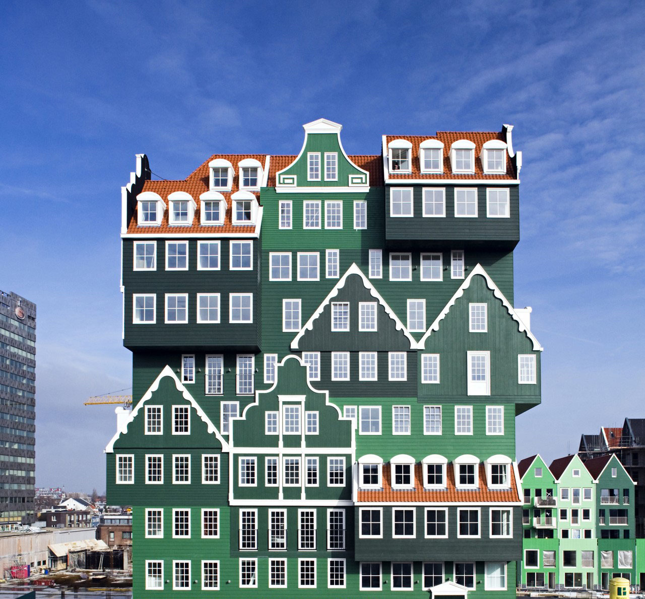 Gingerbread Hotel In Amsterdam