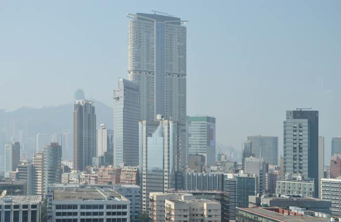 Skyline di Kawloon