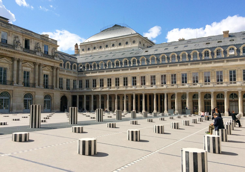 Daniel Buren Palais Royal