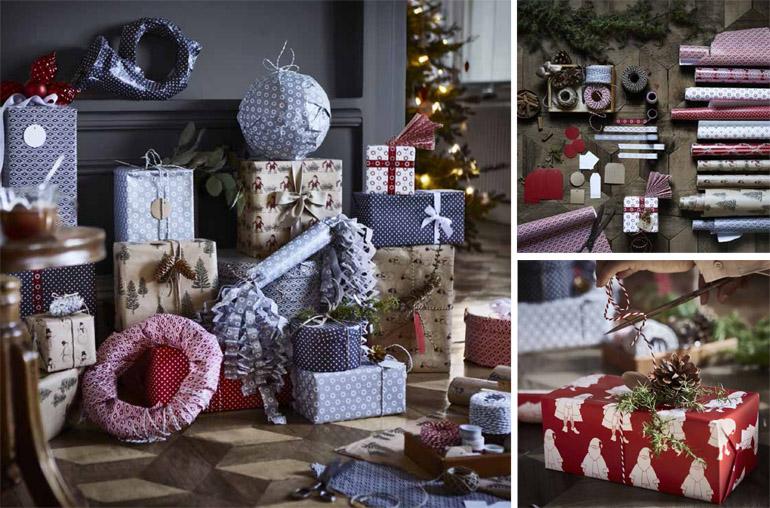 Collezione di Natale-ikea-pacchetti regalo