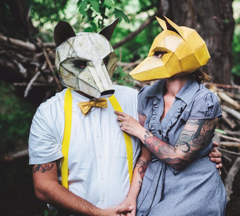 maschere di animali halloween 3