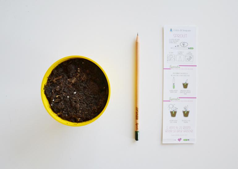 comune segrate matita sprout