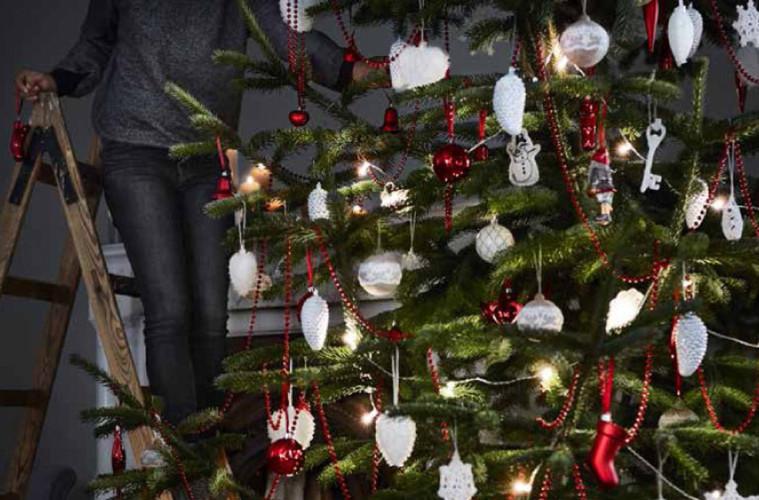 Ikea decorazioni natalizie facili e veloci for Ikea decorazioni