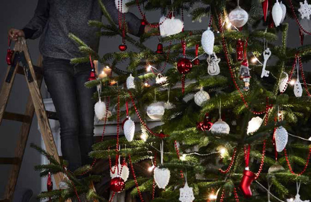 Ikea decorazioni natalizie facili e veloci for Natale ikea 2018