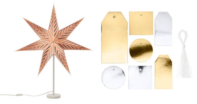 decorazioni natale ikea oro