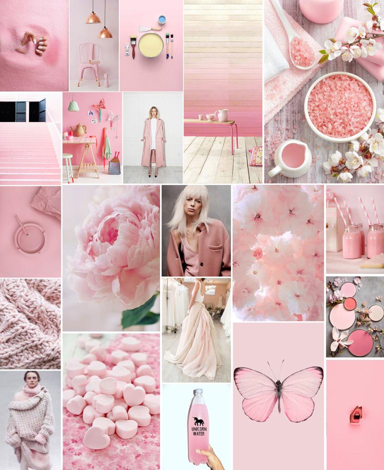 rosa pantone 2016