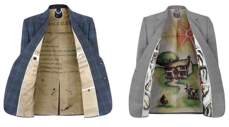 jacket printed