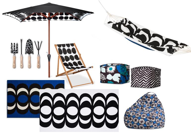 Marimekko collection for Target outdoor