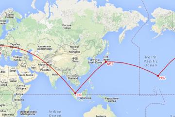 Round The World 2015 MAP