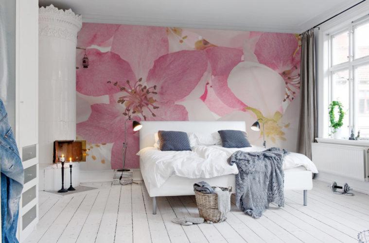 La primavera sboccia su abiti e accessori per la casa for Ikea carta parati