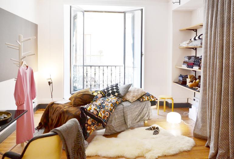 Casa Marimekko Fuorisalone 2016 Brera Design District, la camera
