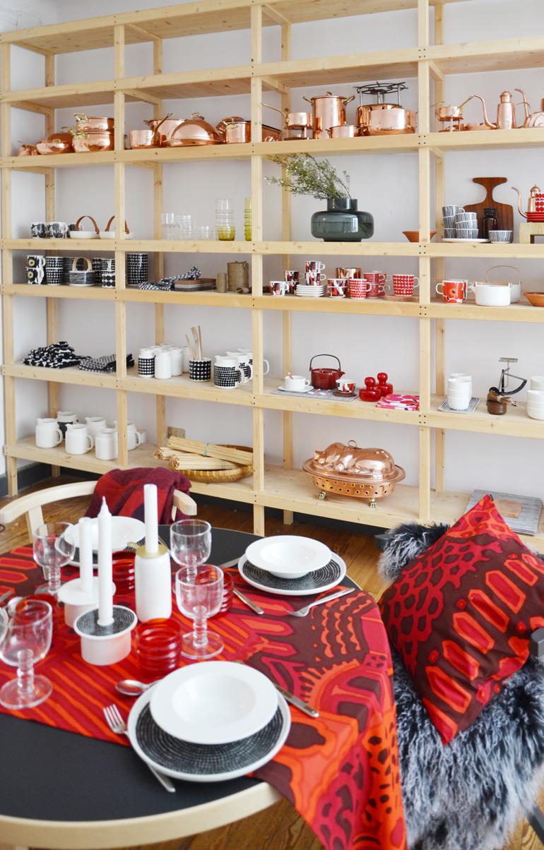 Casa Marimekko Fuorisalone 2016 Brera Design District, la cucina e sala da pranzo