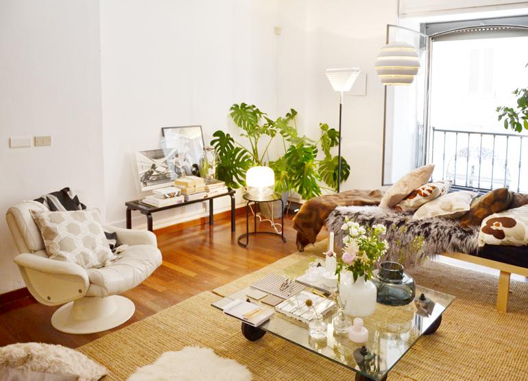 Casa Marimekko Fuorisalone 2016 Brera Design District, la zona living