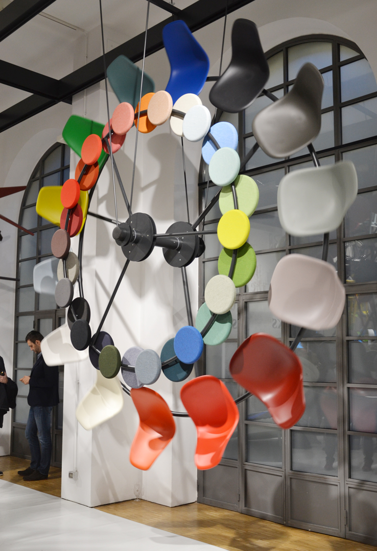 Fuorisalone 2016, Vitra, Brera Design District