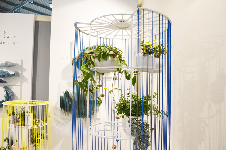 Salone Satellite librerie porta vasi Alessandra Meacci