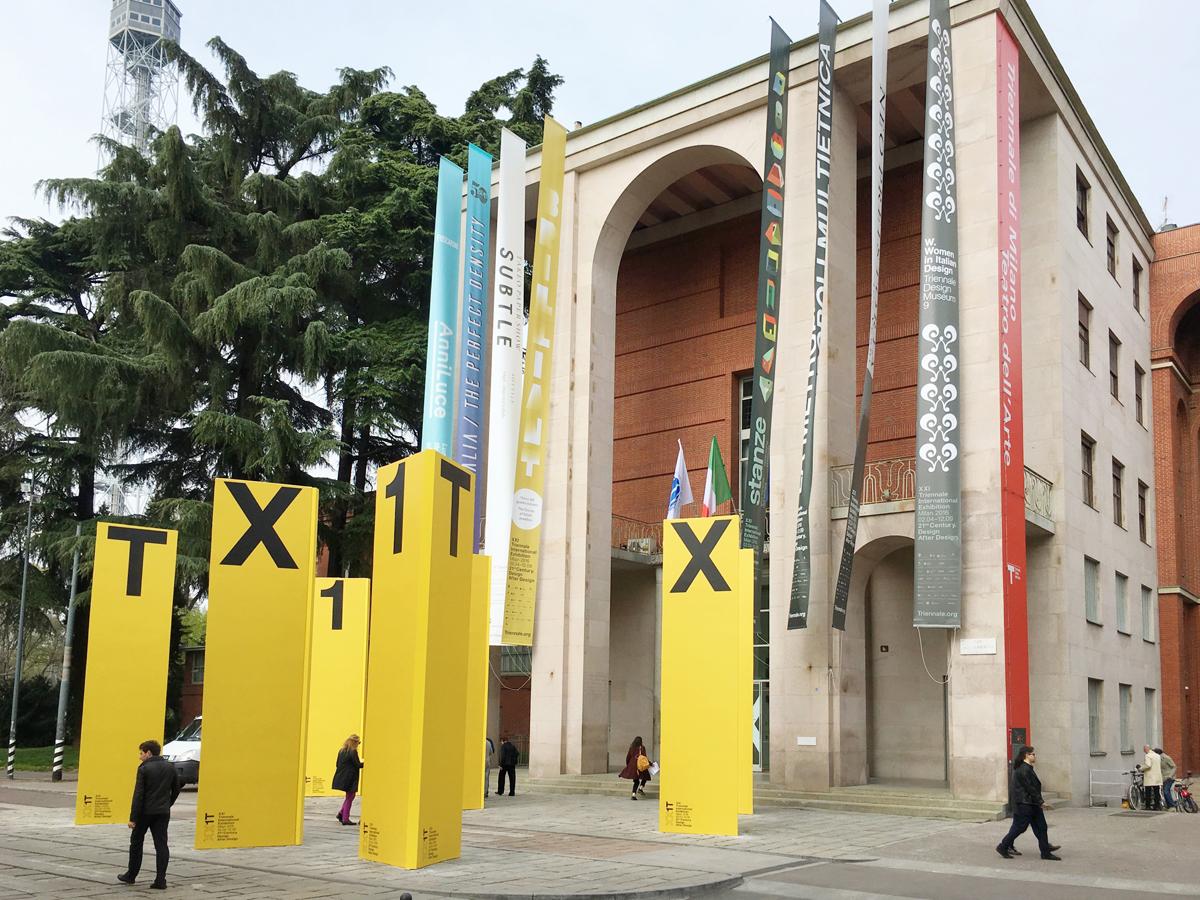 Triennale Di Milano Ceramics : Xxi triennale di milano le mostre