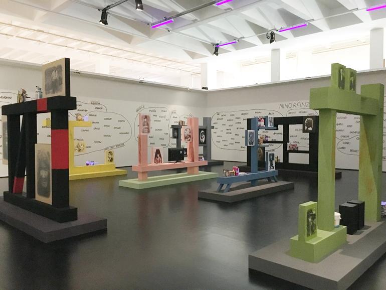 XXI Esposizione Internazionale de La Triennale di Milano. Mostra La Metropoli Multietnica. Andrea Branzi