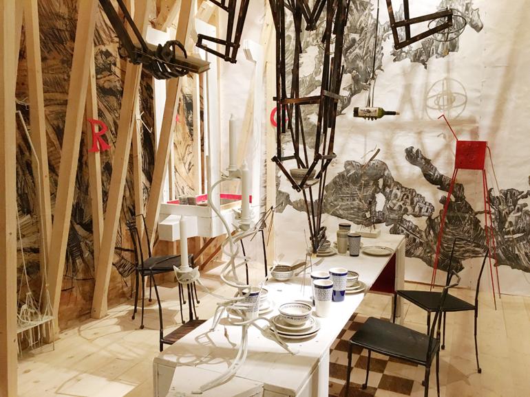 XXI Esposizione Internazionale de La Triennale di Milano. Mostra Stanze a cura di Beppe Finessi. Duilio Forte