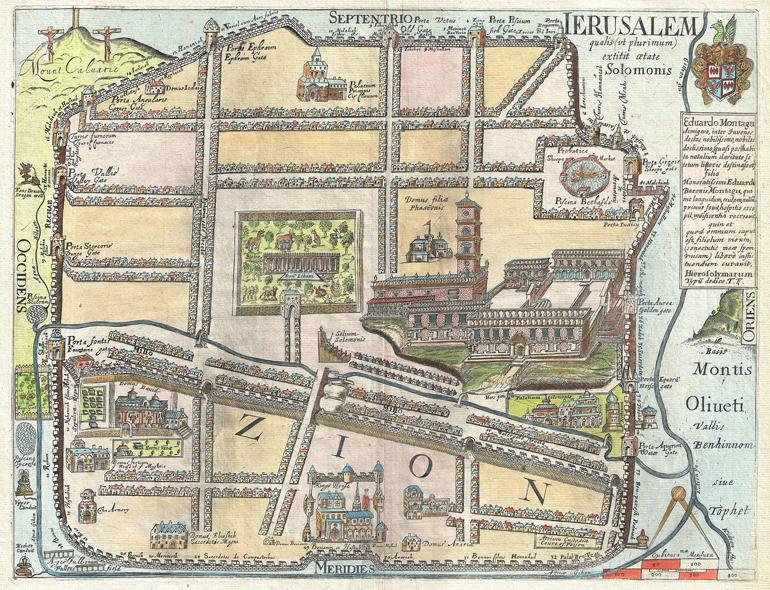 Thomas Fuller, Gerusalemme, 1665