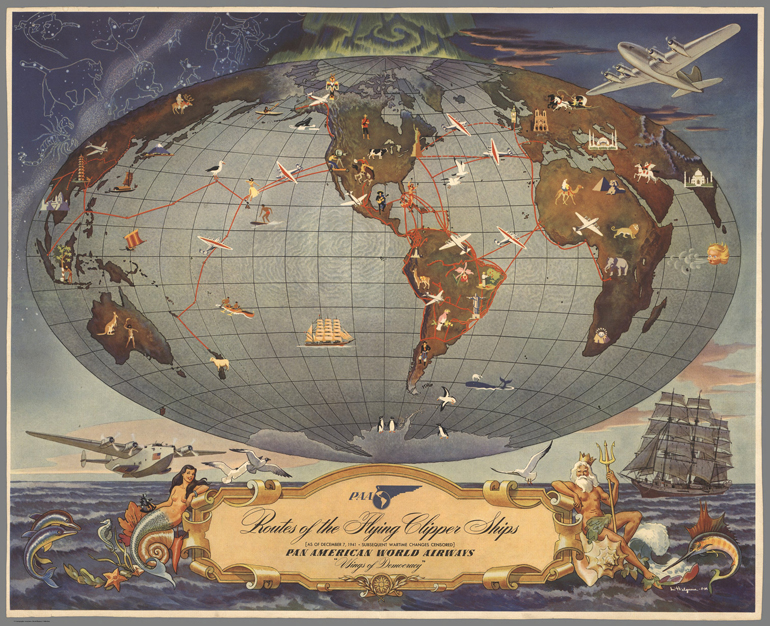 Voli nel mondo della Pan American Airways