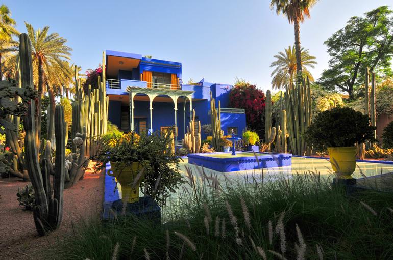 La-Villa-Majorelle-Yves-Saint-Laurent-Marrakech