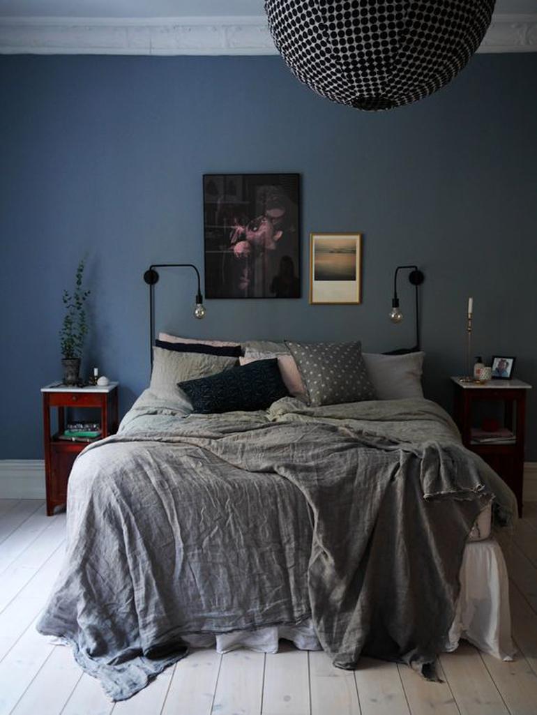 Camera Da Letto Blu Cobalto – Casamia Idea di immagine
