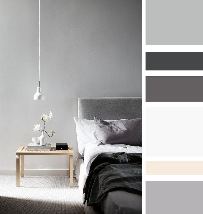 Camera da letto le mie ispirazioni - Parete grigia camera da letto ...