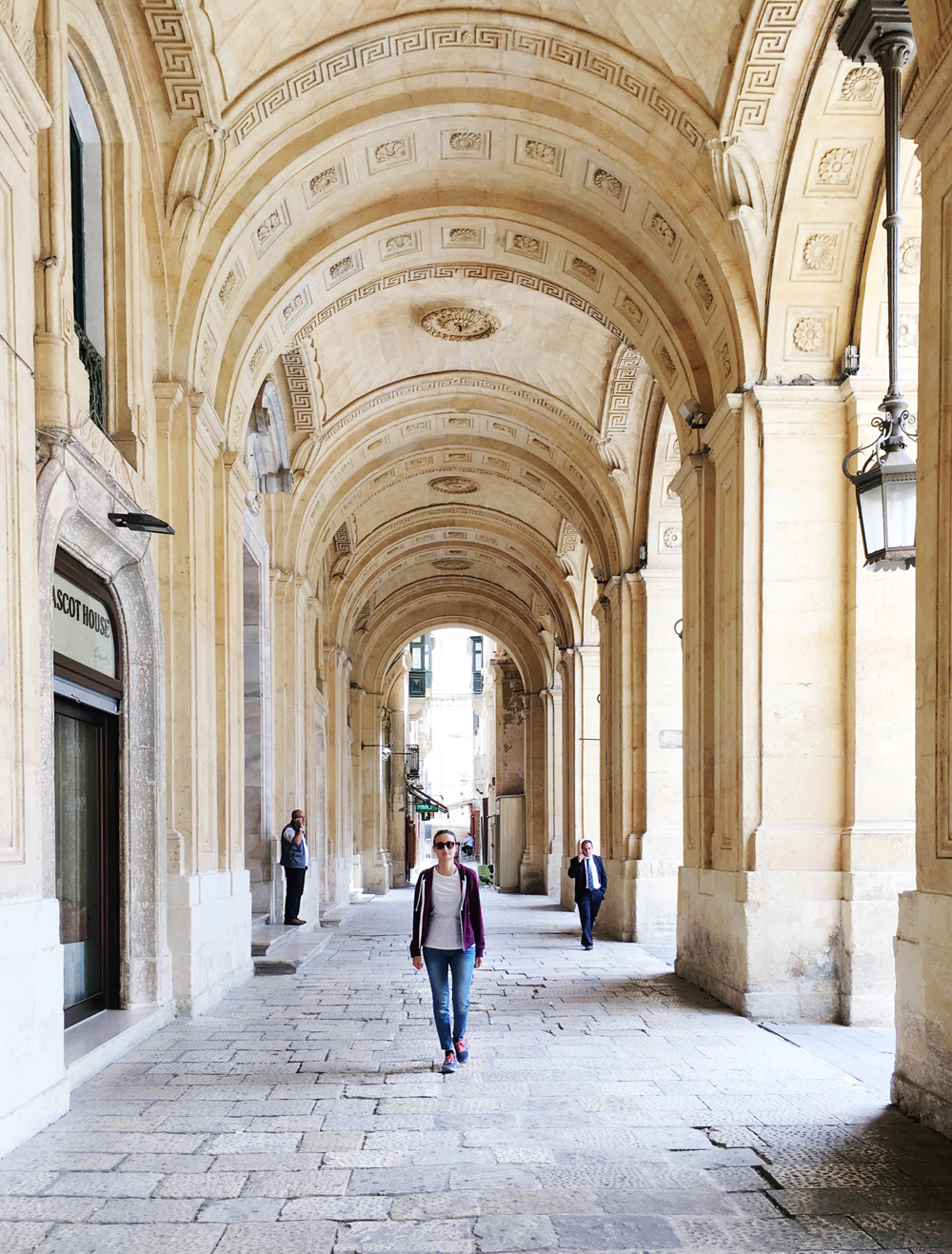 Malta-La-Valletta-portici