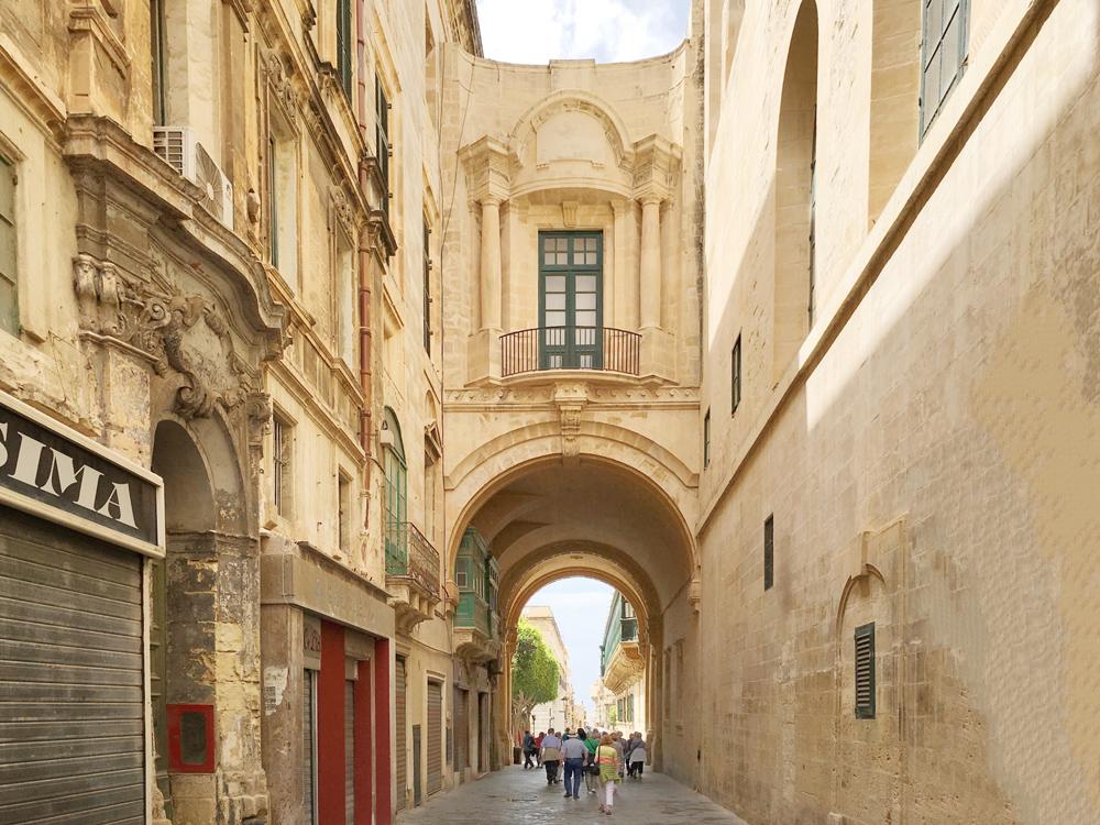 Malta-La-Valletta-via
