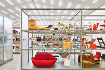 Ausstellungsansicht der Haupthalle  Foto © Vitra Design Museum, Mark Niedermann   Exhibition view of main hall  photo © Vitra Design Museum, Mark Niedermann