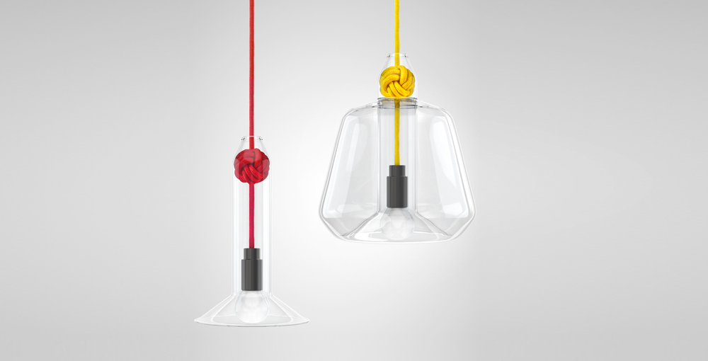 Knot Lamp by Vitamin