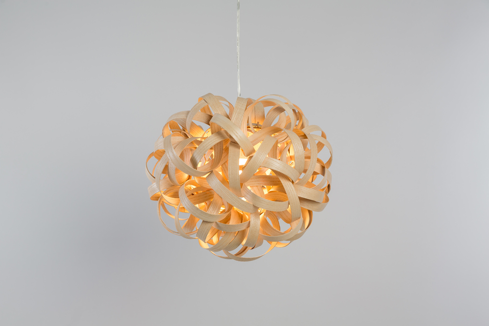No.1 Pendant by Tom Raffield