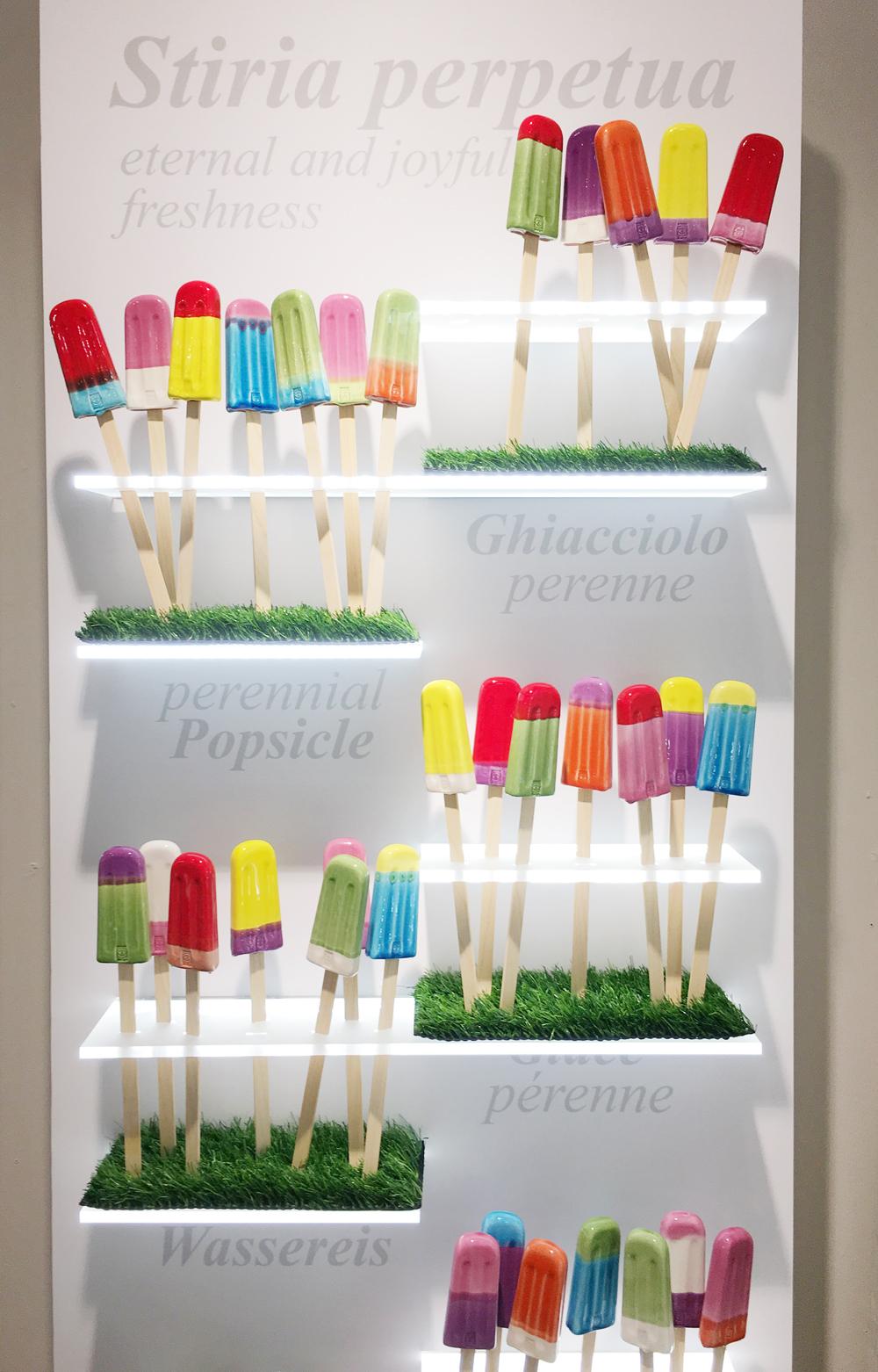 Per gli irriducibili dell'estate: ghiaccioli in ceramica décor. Arago Design