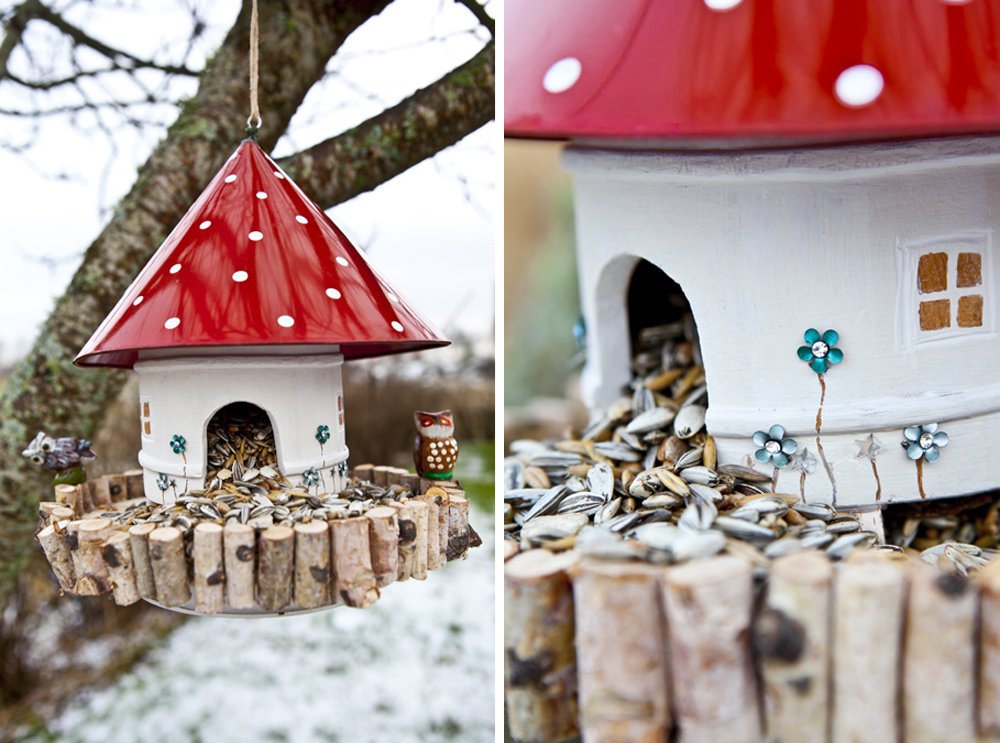 Super 35 colorful bird houses RE14