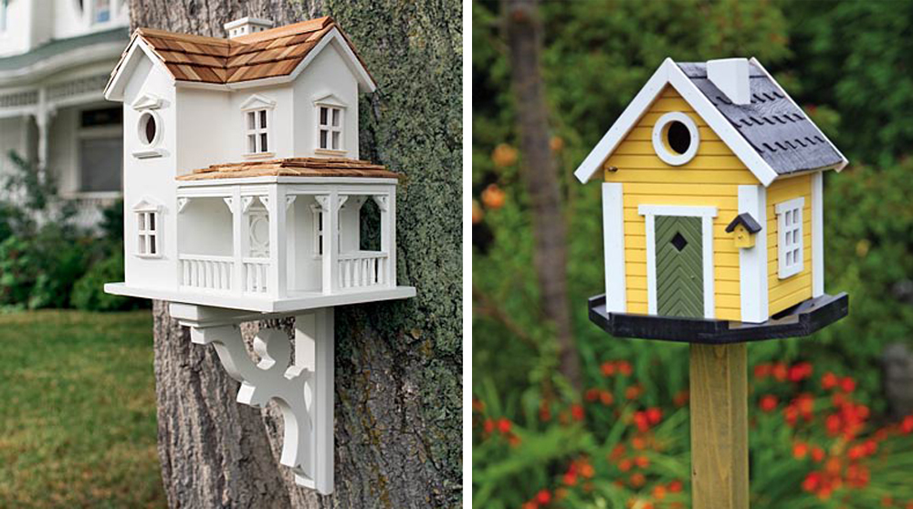 Favori 35 colorful bird houses ZW37