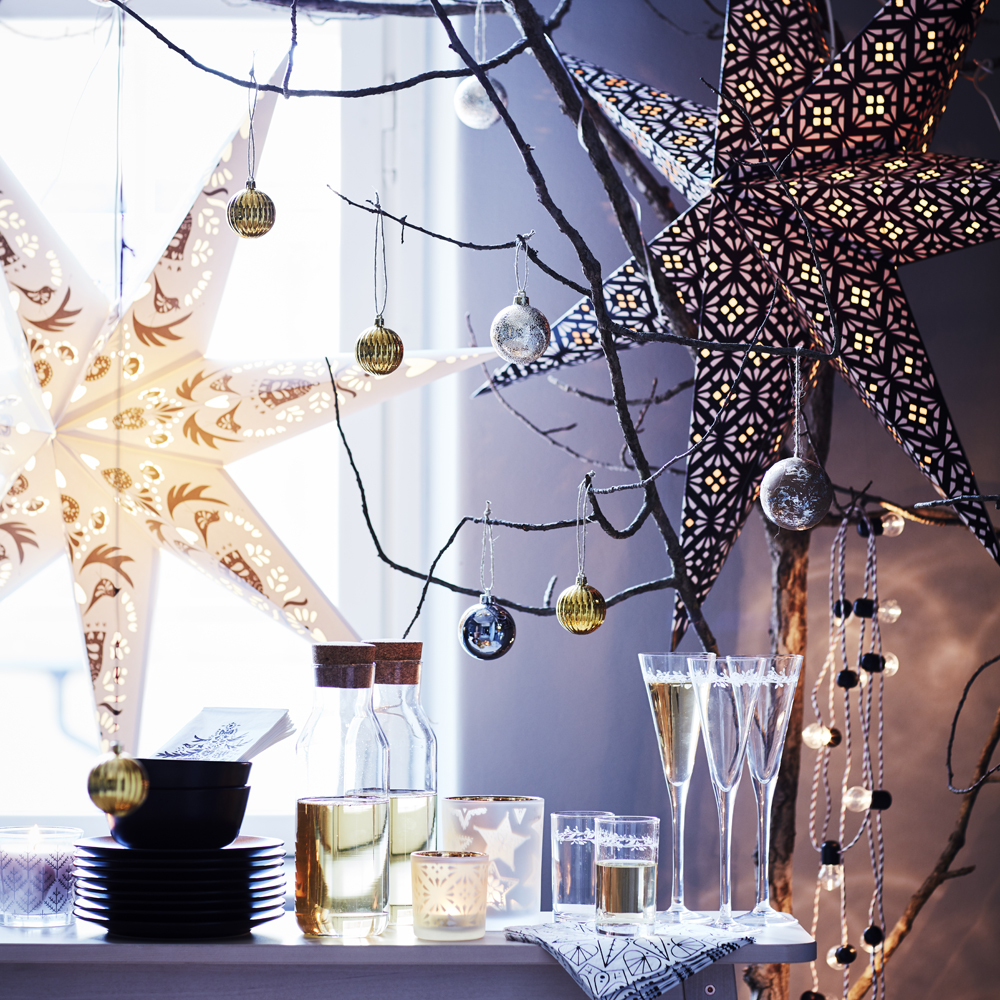 The winter collection new christmas decorations by ikea - Decoration noel ikea ...