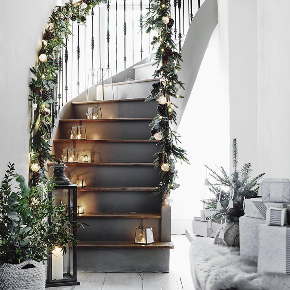 decorazioni-natale-scala