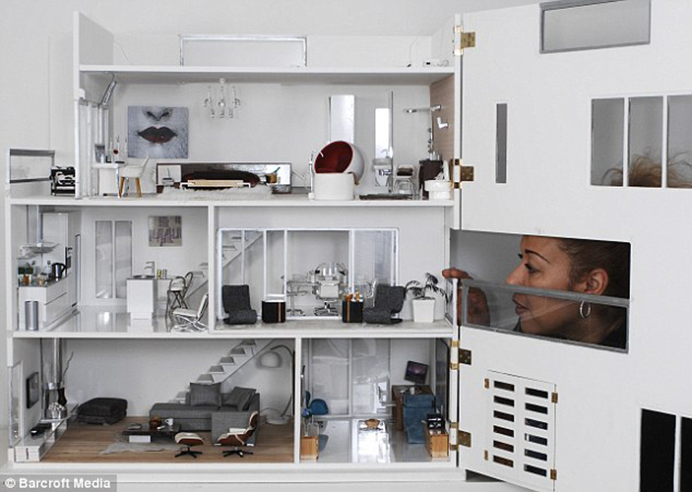 Case delle bambole moderne giochi per grandi for Prime case in nuova inghilterra