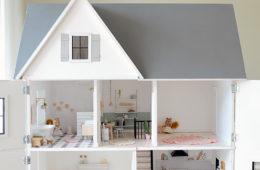 modern dollhouse bedroom plan 2