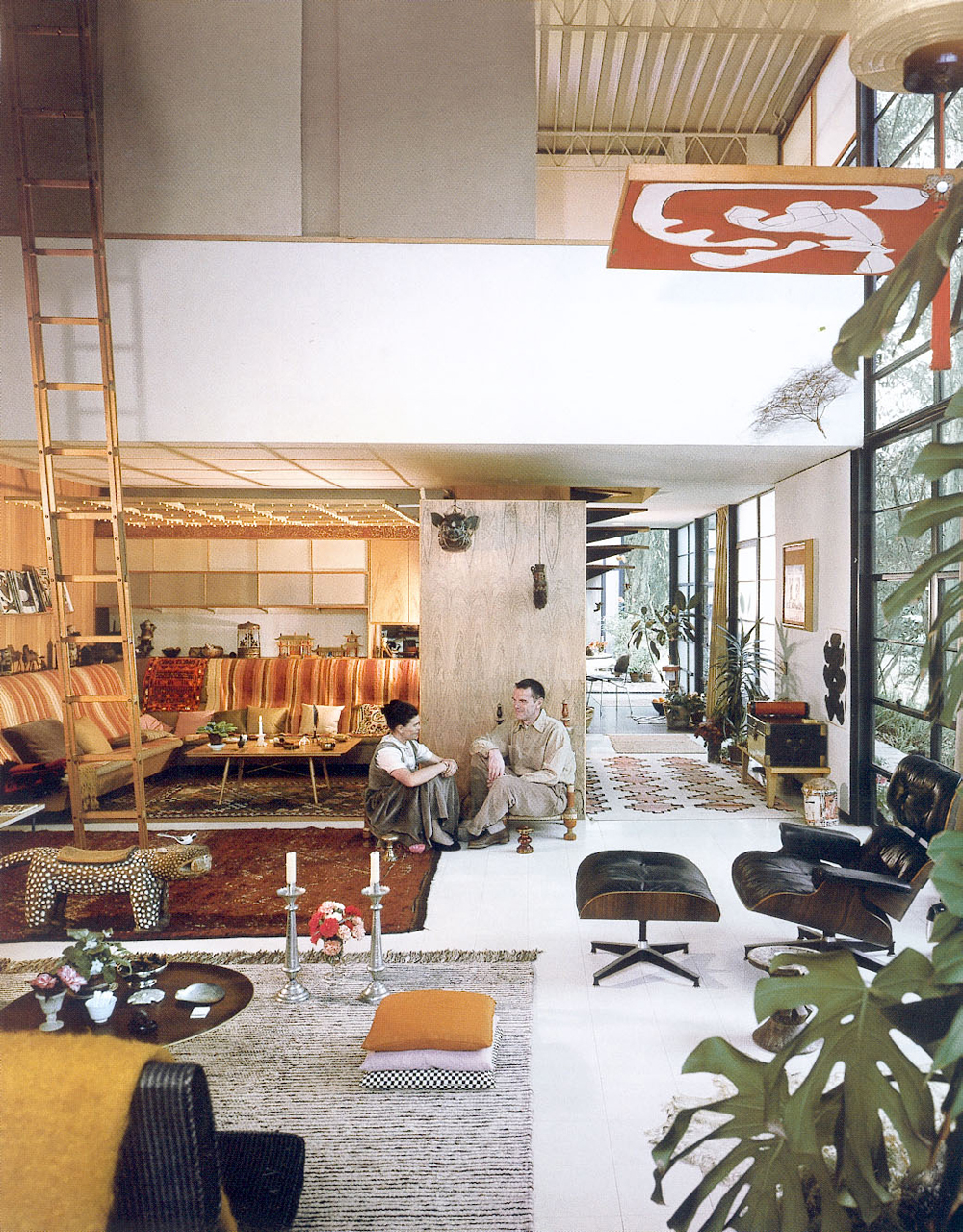 Charles-and-Ray-Eames-interiors