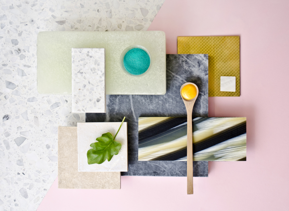 The creative process: moodboards, colors and materials