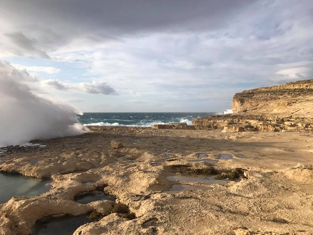Azure window-Carmen Cassar-island of gozo