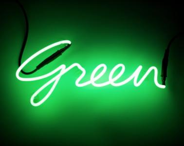 neon green seletti