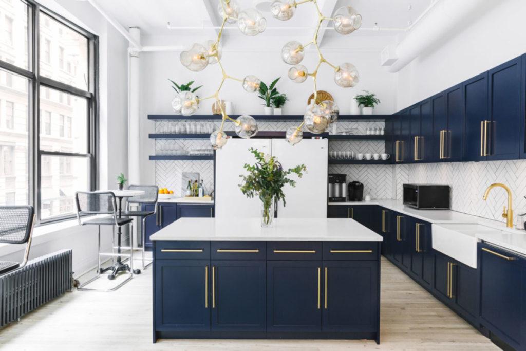 ottone in cucina