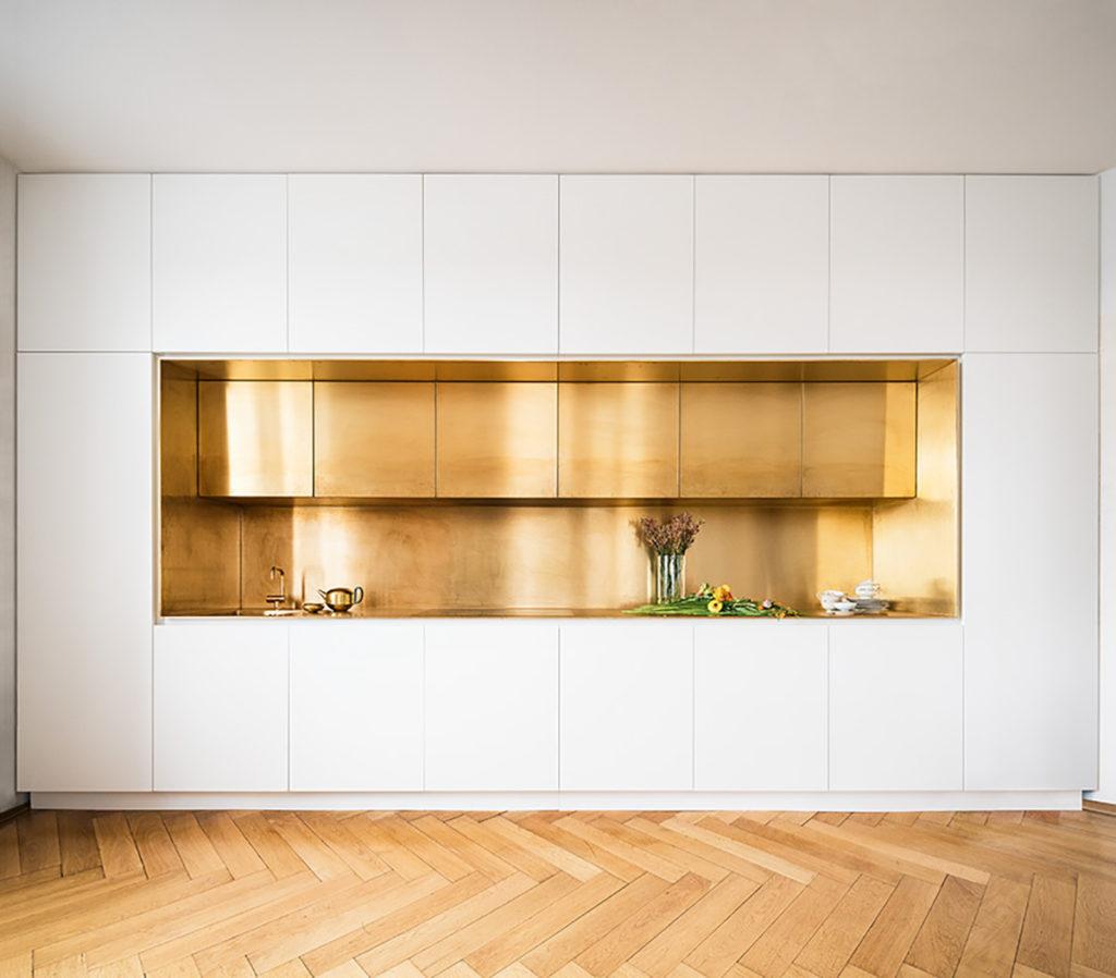 cucina ottone