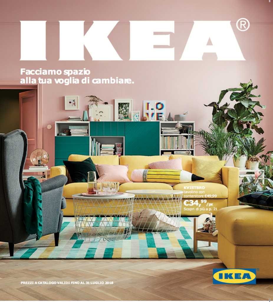 Il nuovo catalogo ikea 2018 for Ikea compra muebles