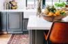 tappeto persiano in cucina