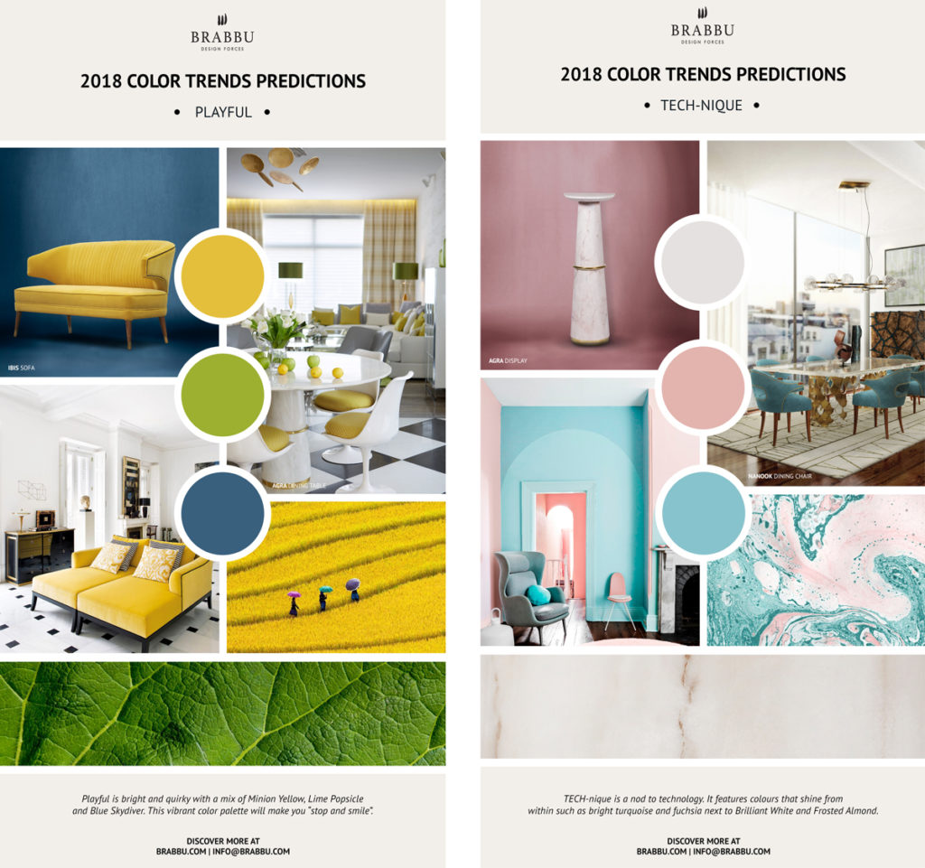 Colour Trends 2018: Pantone Color Trend Forecast For The Spring 2018