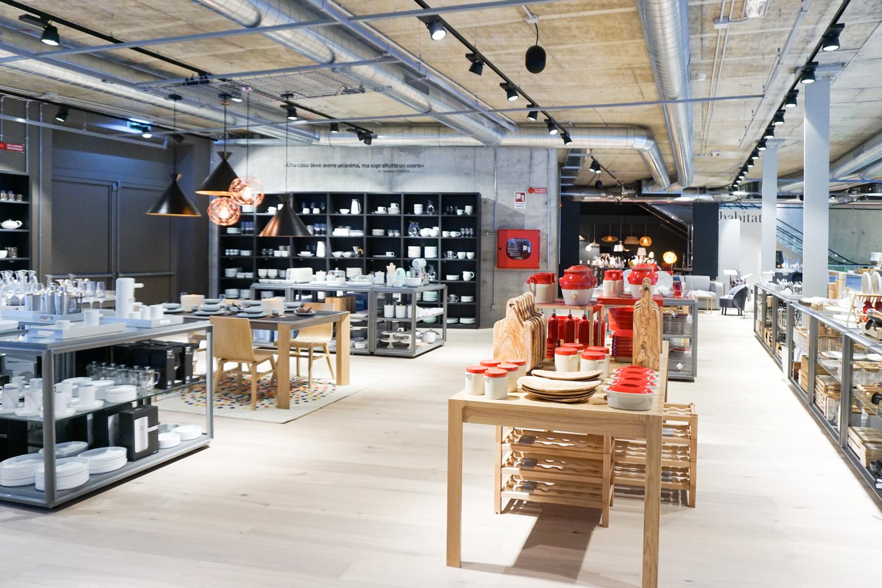 New Habitat Store In Milan